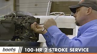 Download 100 Hour Two-Stroke Outboard Engine Service Video