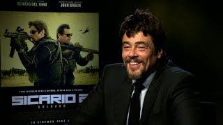 Download Sicario 2: Soldado interview - hmv talks to Benicio Del Toro Video