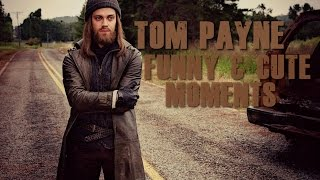 Download Tom Payne from The Walking Dead funny & cute moments Video