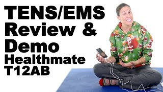 Download TENS / EMS Unit - Healthmate T12AB Review & Demo - Ask Doctor Jo Video