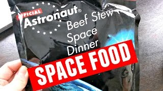 Download Tasting Astronaut Beef Stew - space food Video