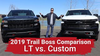 Download 2019 Silverado Custom Trailboss vs LT Trailboss - Explained Video