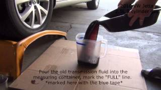Download 2010 2.5L Volkswagen Jetta Transmission Service Video