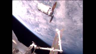 Download U.S. Commercial Cargo Ship Arrives at the International Space Station Video