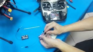 Download 翔大模型 AT9 R9D SBUS控制到10個通道 Video