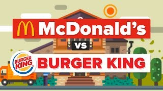 Download McDonald's vs Burger King - What Is The Difference? Fast Food Restaurant Comparison Video