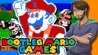 Download BOOTLEG MARIO GAMES on the Famicom/NES - SpaceHamster Video