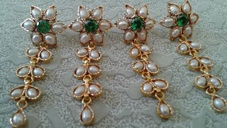 Download New Rajputi Little Earrings Design | New Tops Design Video