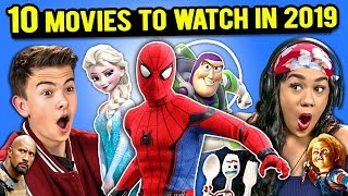 Download Generations React To 10 Most Anticipated Movies of 2019 (Frozen 2, Hobbs & Shaw, Dumbo) Video