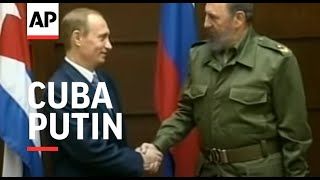 Download CUBA: RUSSIAN PRESIDENT PUTIN VISIT Video