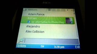 Download Nokia E5 Facebook Application Video