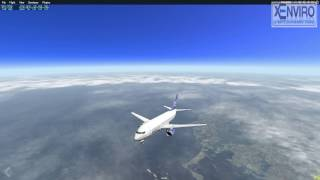 X-Plane] Amazing Clouds and much more realistic cloud
