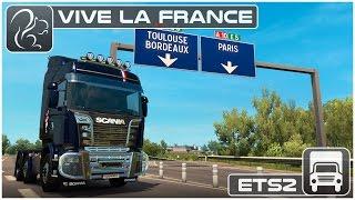 Free Download ETS2 1 26 0 with DLC Vive la France +