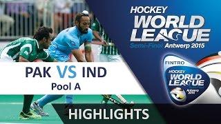 Download Pakistan v India Match Highlights - Antwerp Men's HWL 2015 Video