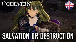 Download Code Vein - PS4/XB1/PC - Salvation or Destruction (English story trailer) Video