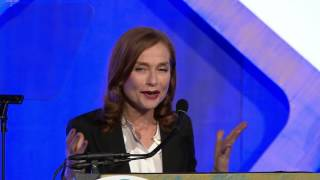 Download Isabelle Huppert winning the 2016 IFP Gotham Award for Best Actress for ELLE Video