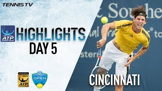 Download Highlights: Isner, Thiem Move Into Cincinnati Quarters Video