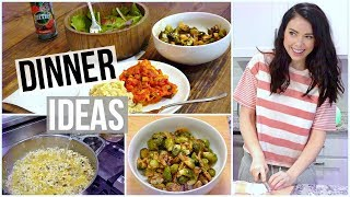 Download 3 Healthy Dinner ideas! Meal Prep! Video