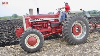 Download 40 Tractors Plowing at the Half Century of Progress Show Video