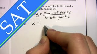Download SAT - Averages - Difficult Problems Video
