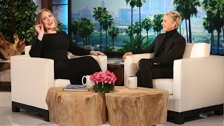 Download Adele Gets Candid with Ellen Video