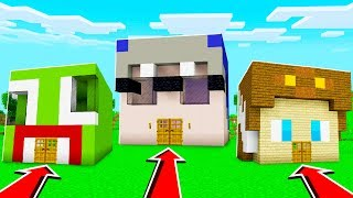 Download UNSPEAKABLE HOUSE vs SHARK HOUSE in Minecraft! Video
