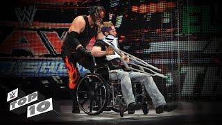 Download Injured Superstars Getting Crushed: WWE Top 10 Video