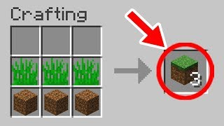 Download Minecraft: NEW Crafting Recipes That Should be Added Video
