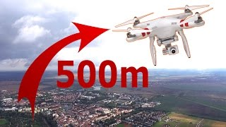 Download Dji Phantom3 Standard How to fly to the maximum height. No modification. Tips and tricks Video