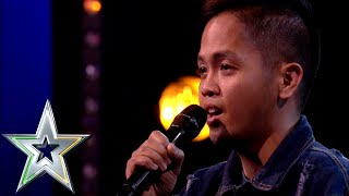 Download Nervous singer Rodelle from the Philippines lights up the stage | Ireland's Got Talent 2019 Video