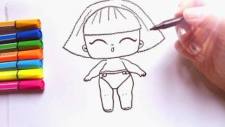 Download How to Draw #LOL DOLL last series | Lol Surprise Doll drawing | Куклы Лол Последняя Серия Video
