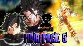 Download Dragonball Xenoverse 2 - Hair Pack 5 Mod - Tryzick Video