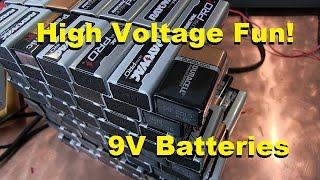 Download Jacob's ladder with 9V Batteries Video