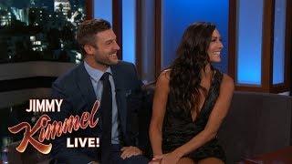 Download Jimmy Kimmel Interviews Bachelorette Becca & Fiancé Garrett Video