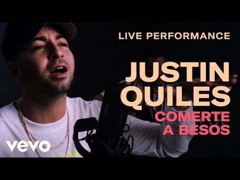 "Justin Quiles - ""Comerte a Besos"" Live Performance 