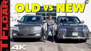 Download 2019 Lexus LX570 - What's better an old Land Cruiser or a New Lexus? Old vs New Ep.1 Video