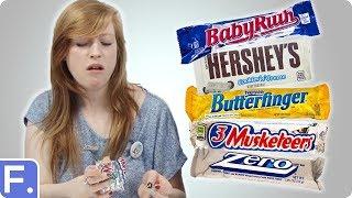 Download Irish People Taste Test American Chocolate Bars Video