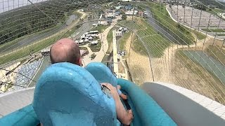 Download The Verrückt Water Slide at Schlitterbahn Kansas City Video