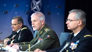 Download Opening remarks joint press conference - NATO Chiefs of Defence, 17 JAN 2018 Video