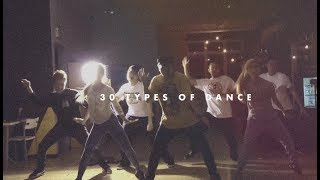Download 30 Types Of Dances Video