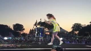 Download Echosmith singer Sydney Sierota rocks the drums @ Isle of MTV 2015 Video