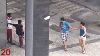 Download Criminals Target Olympic Site in Brazil Video