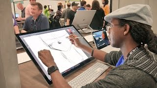 Download Microsoft Surface Studio Hands On Review Video