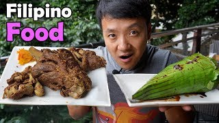 Download First Time Trying TRADITIONAL Filipino Food Video