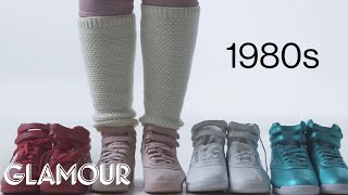 Download 100 Years of Women's Sneakers | Glamour Video