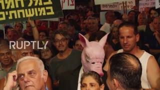 Download Israel: Protesters call on Attorney-General to indict Netanyahu Video