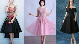 Download Latest Cocktail Dresses 2018 | Short Prom Dresses | Knee Length Dresses | Evening Gowns Video