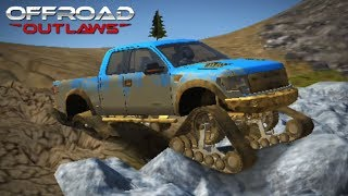 Download Offroad Outlaws - TESTING TANK TRACKS! NEW UPDATE 1.2.7 (Offroad Outlaws 2018 Gameplay) Video
