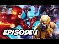 Download The Flash Season 4 Arrow Crisis On Earth X Episode Easter Eggs - Arrow Supergirl Part 1 Video