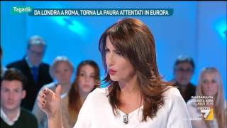 Download Tagadà - Da Londra a Roma, torna la paura attentati in Europa (Puntata 23/03/2017) Video